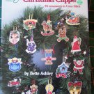 30 Cross Stitch Patterns Christmas Ornaments Gift Tags Wreath Decorations 3584