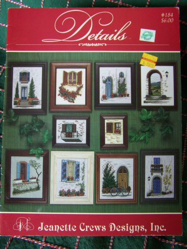 10 Jeanette Crews Designs Cross Stitch Patterns Details Book 184
