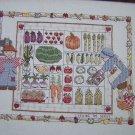 Cross Stitch Pattern Debbie Mumm Sewing The Seeds Farmers Veggies Sampler 765