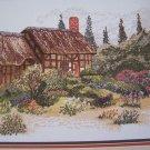 Vintage Cross My Heart Cross Stitch Pattern The Garden Cottage CSL-44