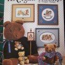 Vintage Tea Time Teddies Bears Cross Stitch Embroidery Patterns 486 LA