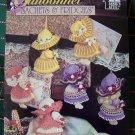 New Annie's Attic Crochet Patterns Sunbonnet Sachets & Fridgies 878501