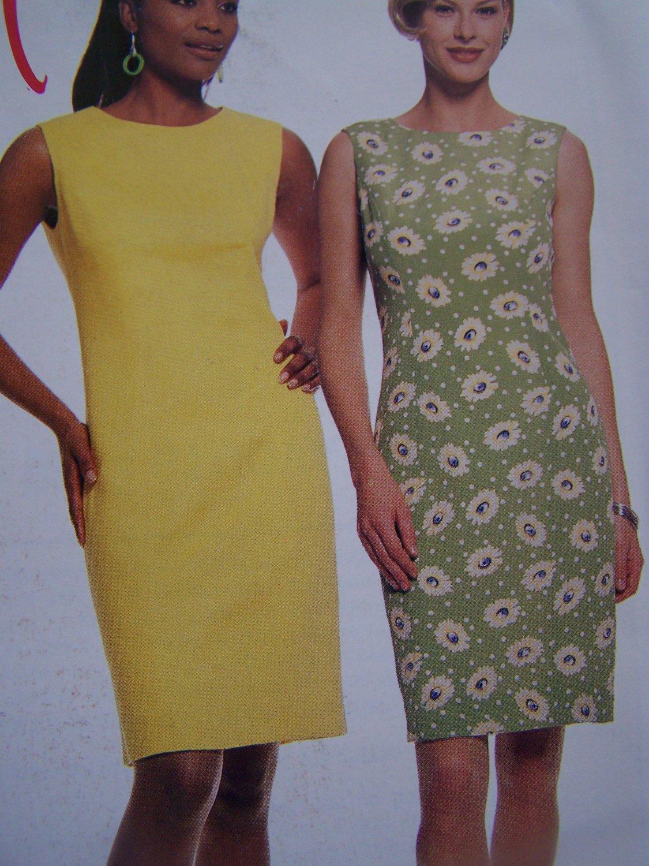 *Ladies Dress Sundress Princess Seaming 14 16 18 20 Sewing Pattern 8761 Free USA Ship