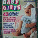1990s McCall's Baby Gifts Knitting Crochet Sewing Smocking Cross Stitch