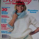 VTG Knitting With Simplicity Back Issue Pattern Magazine Fall 1985