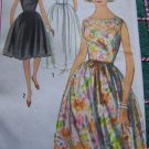 VTG One Piece Dress & Slip Sundress Sheer Overlay Sewing Pattern 5363