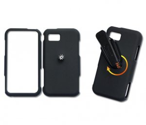 Samsung Hard Black Case Cover Skin Belt Clip 867