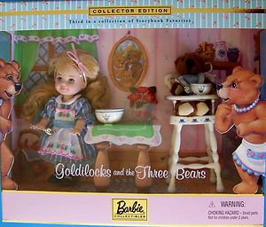 Kelly As Goldilocks And The Three Bears Storybook Dolls