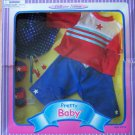 "PRETTY BABY  PATRIOTIC 16-18"" FASHION PANTS SET NRFB"
