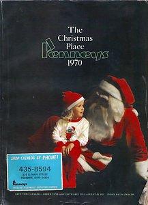 THE CHRISTMAS PLACE PENNEYS 1970 CHRISTMAS CATALOG