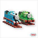 2007 HALLMARK ORNAMENTS THOMAS & PERCY TANK ENGINES