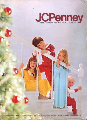 Metal Toy Tractors >> THE CHRISTMAS PLACE JC PENNEY 1971 CHRISTMAS CATALOG PENNEYS