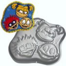 1998 WILTON CARTOON RUGRATS CAKEPAN w/ Complete Instructions  #2105-3050.