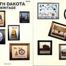 NORTH DAKOTA HERITAGE COUNTED CROSSTITCH BOOK NEW