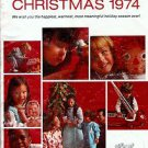 1974  ALDENS FACES OF CHRISTMAS CATALOG WISHBOOK
