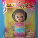 "3"" MICRO GINA DIAMOND DANCER DOLL 2003 TOMY MIP NEW"