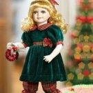 "14"" CHRISTMAS RACHAEL with ORNAMENT   NRFB"