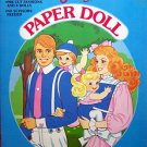 VINTAGE  HEART FAMILY PAPER DOLL BOOK 1985  Uncut Western