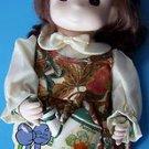 "1995 2nd Ed 12"" Garden Friends Collection PRECIOUS MOMENTS OCTOBER PUMPKIN #1434"