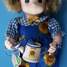 """1995 2nd Ed 12"""" Garden Friends Collection PRECIOUS MOMENTS SEPTEMBER SUNNY #1433"""