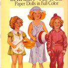 Original SHIRLEY TEMPLE Paper Dolls in Full Color 4 Dolls Mint in Book