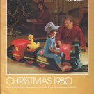 MONTGOMERY WARD Christmas Catalog for 1980 WARDS w/ Sleeve