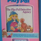 1987 IDEAL TALKING ANIMATED  PATTY PLAY PAL THE PLAYPAL DETECTIVE  BOOK CASSETTE