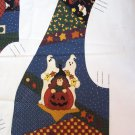 CUTOUT PANEL VEST WHICH WITCH & THE WHO HALLOWEEN by Leslie Beck