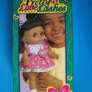 "1998 TRU 14"" AA PRETTY LOVE LASHES DOLL Gives Butterfly Kisses w/Locket NRFB NEW"
