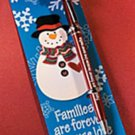SOFTY'S SAYING SNOWMAN PEN & BOOKMARK GIFT SET