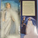 "1982  PRINCESS DI DIANA OF WALES 11.5""  DOLL SILVER FORMAL GOWN GOLDBERGER"