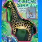 1999 Funmax Battery Operated AFRICAN GIRAFFE Flip Tail-Legs Run, Head Sways NRFB