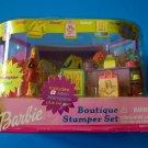 2001 BARBIE BOUTIQUE STAMPER SET   NEW NRFB