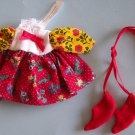"MA MUNCHKIN PEASANT DRESS  w/Shoes 8""Tagged NEW"