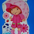 "STRAWBERRY SHORTCAKE Oversize 8"" x 12"" BIRTHDAY GREETING CARD American Greetings"