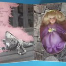"GREETING CARD for MOTHER  DOLL   6"" Blond Hair &  Lavender Eyes 199 NRFB"