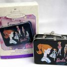 BARBIE ANNIVERSARY ED PRESSED STEEL LUNCH BOX HALLMARK KEEPSAKE ORNAMENT NRFB