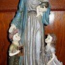 """JESUS & THE CHILDREN 16"""" STATUE NRFB"""