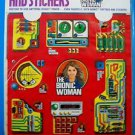VINTAGE 1976 BIONIC TATTOOS AND STICKERS BIONIC WOMAN Kenner MIP NEW