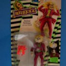 "1989 SHOWTIME BEETLEJUICE SPINHEAD & CREEPY COCKROACH 5""Action Figure KENNER MOC"