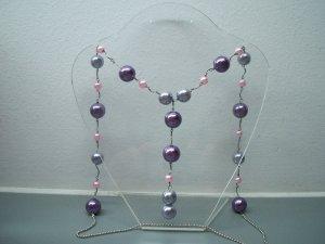 pearly purple (necklace)