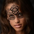 The Enchanted Black Lace Mask AD891