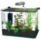 Penn Plax Radius 5 Gallon Glass Aquarium Fish Tank Kit id:ww111k