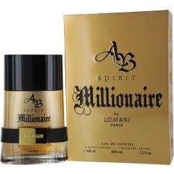 Ab Spirit Millionaire  Edt Spray 3.4 oz  by Lomani For Men  Item # 198193