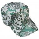 Casual Outfitters™ Grey Skull Camo Design Cap GFCAP3SC