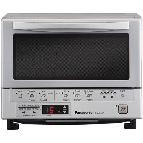 Panasonic NB-G110P - Flash Express Silver Toaster Oven