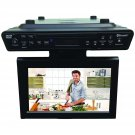 "Sylvania 10.2"" Under-Counter Bluetooth® Kitchen TV with Built-in DVD Player & HDMI® CURSKCR2706BT"