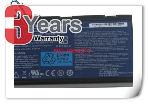 ACER EXTENSA 5630Z-344G32MN 6 Cell battery