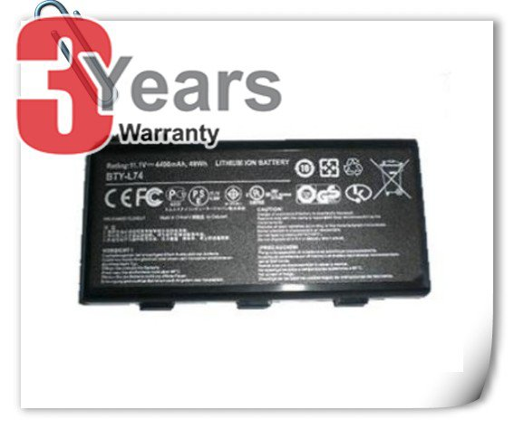 MSI A5000 A6000 A6200 A7200 CX500 CR500 CR600 CR610 CR620 CR630 Battery BTY-L74