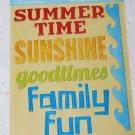 TPC Studio Summertime Chipboard Word Stickers